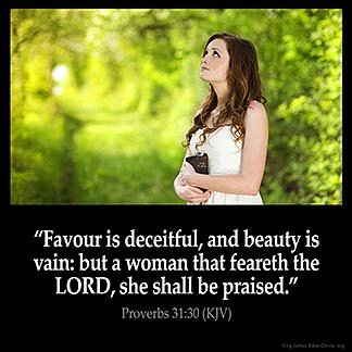 Inspirational Image for Proverbs 31:30