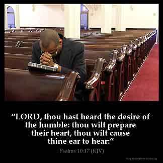 Inspirational Image for Psalms 10:17
