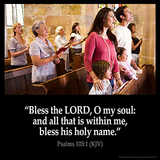 Inspirational Image for Psalms 103:1