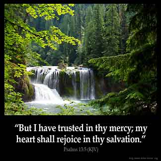 Inspirational Image for Psalms 13:5