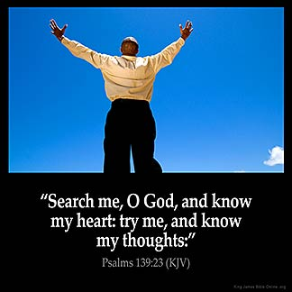 Psalm 139 NCV;KJV - God Knows Everything - For the ...
