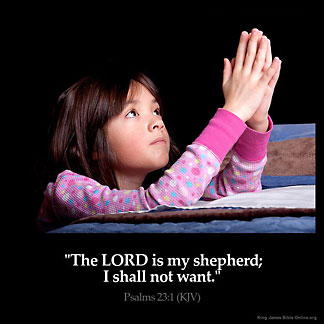 Inspirational Image for Psalms 23:1