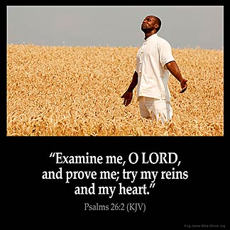 Inspirational Image for Psalms 26:2