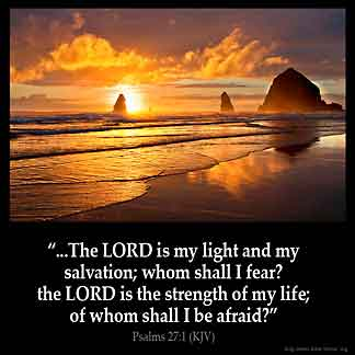 Inspirational Image for Psalms 27:1