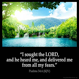 Inspirational Image for Psalms 34:4