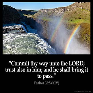 Inspirational Image for Psalms 37:5