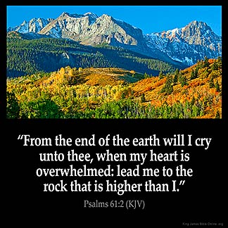 Inspirational Image for Psalms 61:2