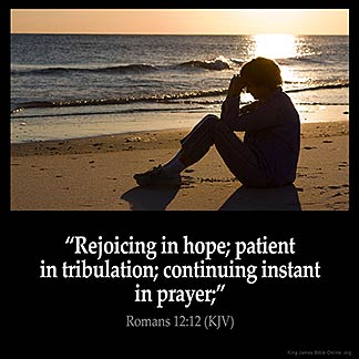 Inspirational Image for Romans 12:12