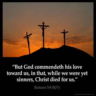 Inspirational Image for Romans 5:8