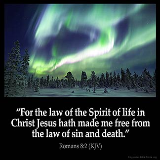 Inspirational Image for Romans 8:2