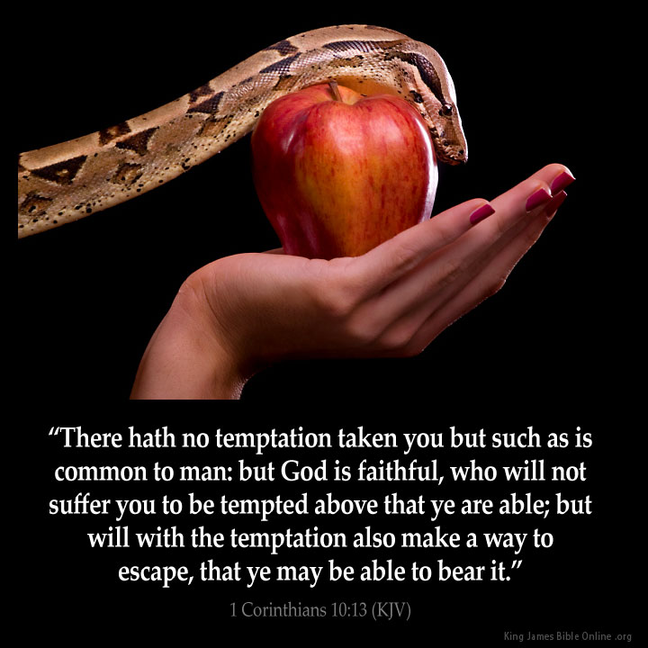 1 Corinthians 10:13 Inspirational Image