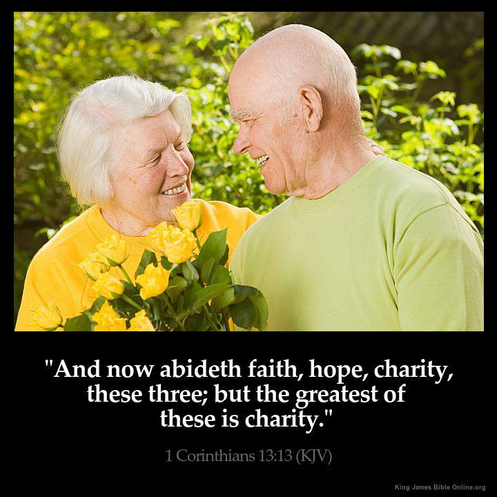 1 Corinthians 13:13 Inspirational Image