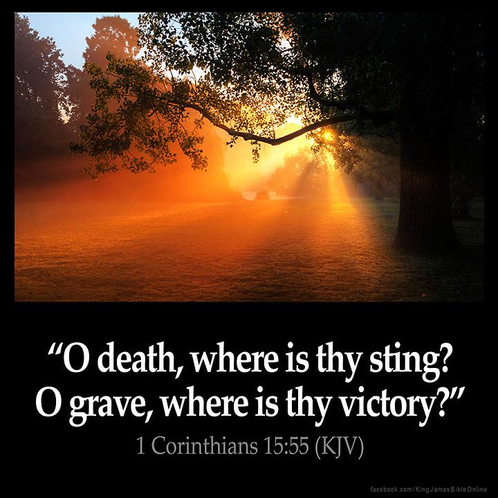 1 Corinthians 15:55