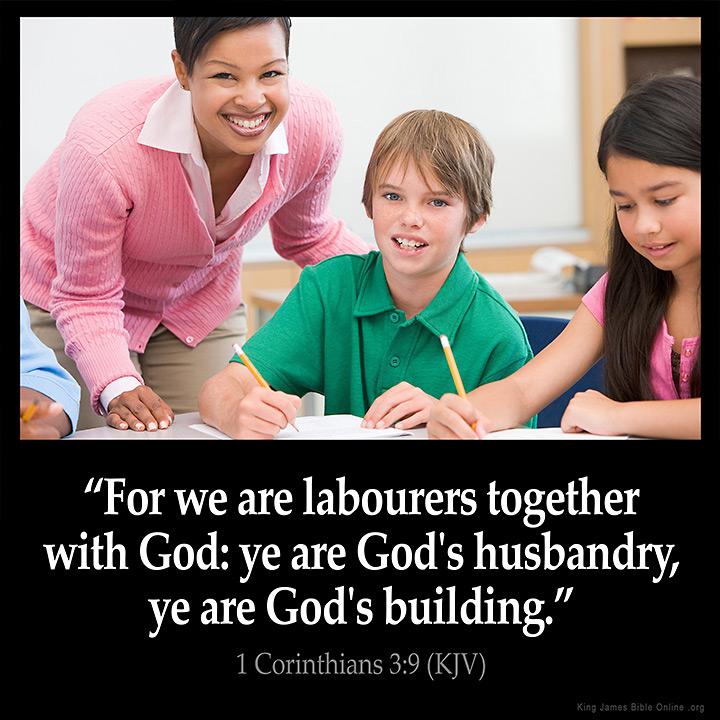 1 Corinthians 3:9 Inspirational Image