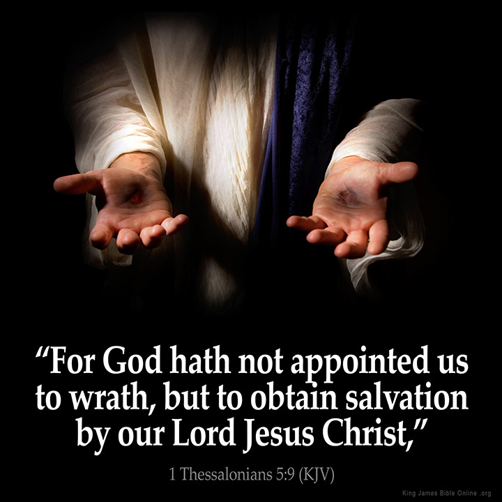 1 Thessalonians 5:9 Inspirational Image