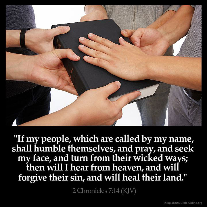 If my people which are called by my name shall humble themselves and