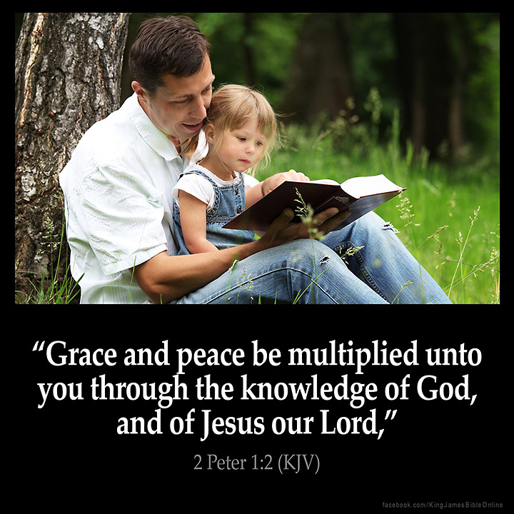 2 Peter 1:2 Inspirational Image