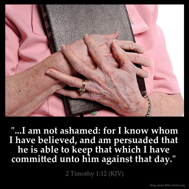 2 Timothy 1:12 Inspirational Image