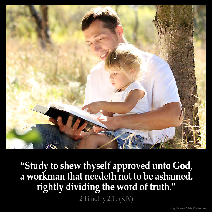 2 Timothy 2:15 Inspirational Image