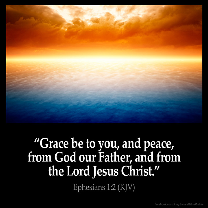 Ephesians 1:2 Inspirational Image