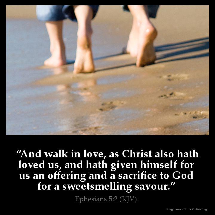 Ephesians 5:2 Inspirational Image