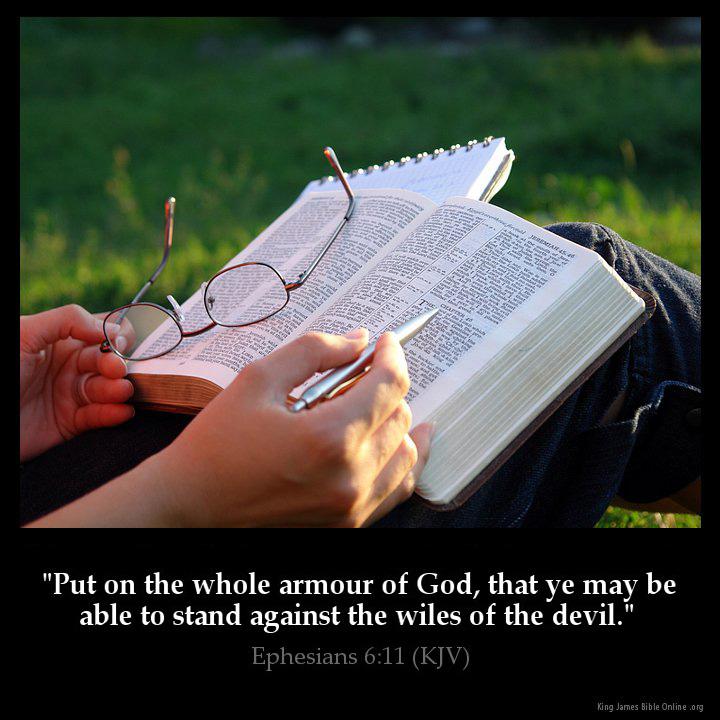 Ephesians 6:11 Inspirational Image