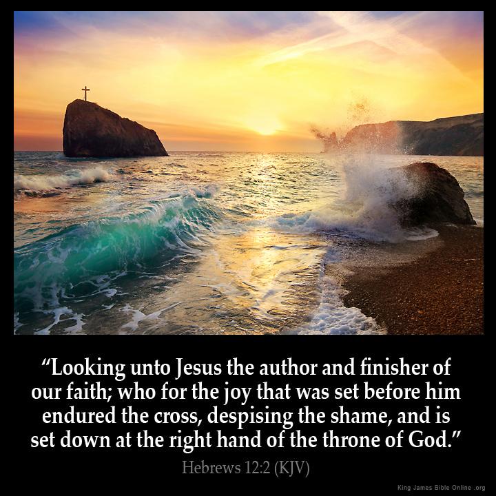 Hebrews 12:2 In... Hebrews 12:14