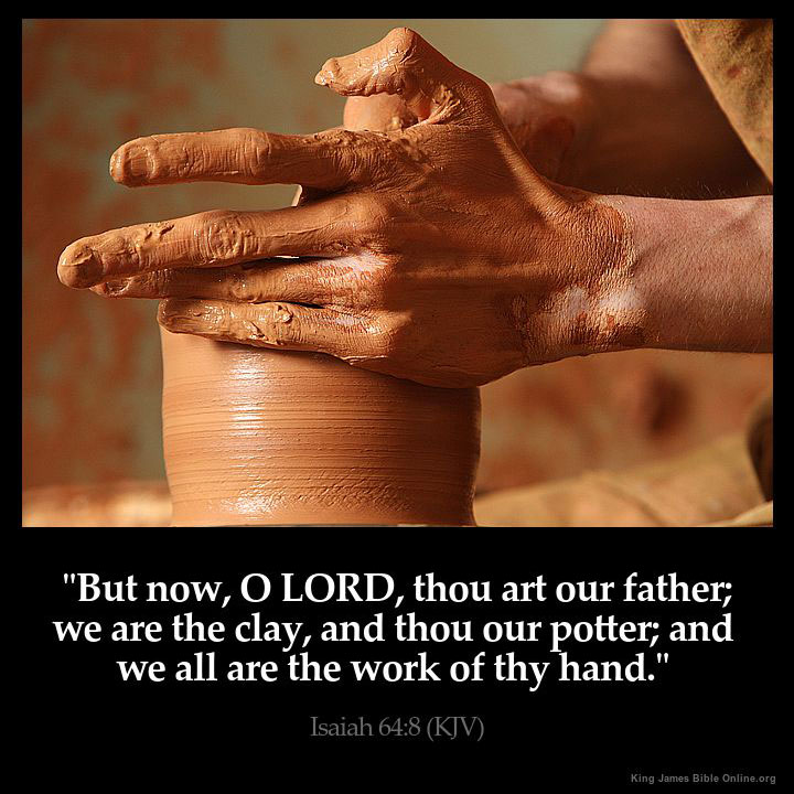 Isaiah 64:8 Inspirational Image