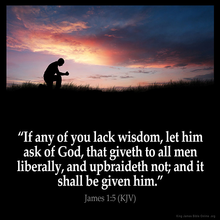 James 1:5 Inspirational Image