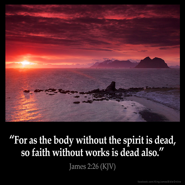 James 2:26 Inspirational Image