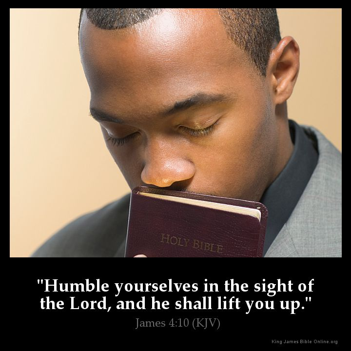 James 4:10 Inspirational Image