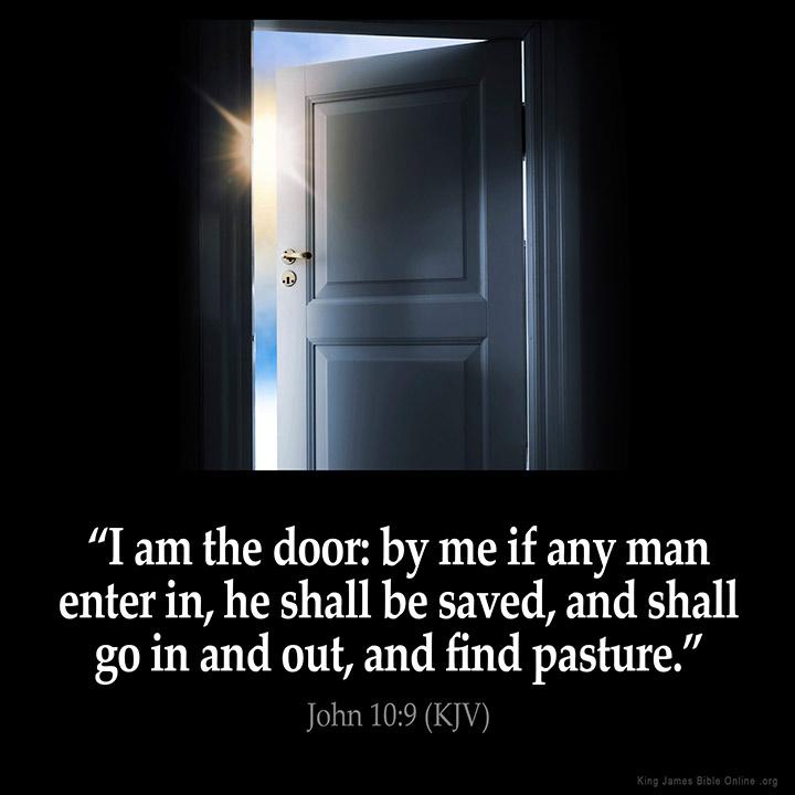 John 10:9