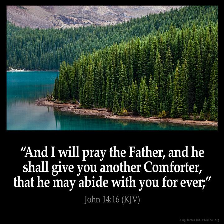 John 14:16 Inspirational Image