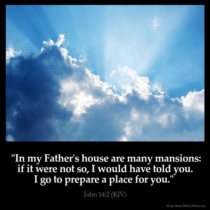 John 14:2 Inspirational Image