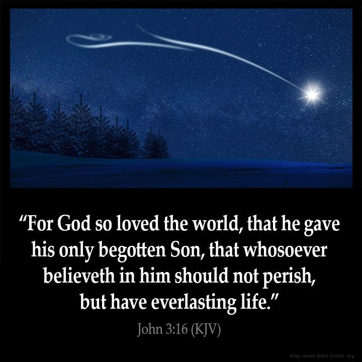 John 3:16 Inspirational Image