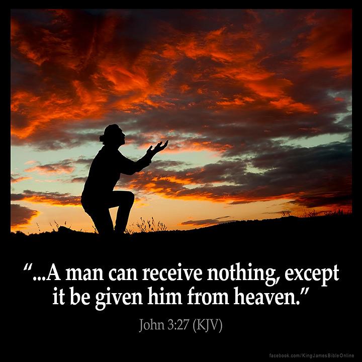 John 3:27