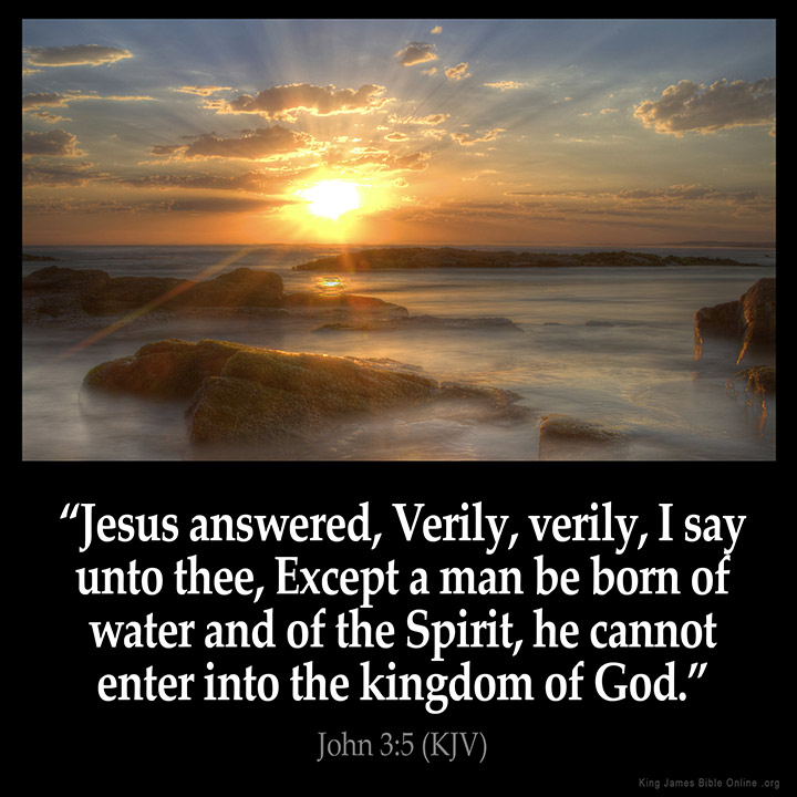 "baptism is the door to life and the kingdom of god Holy baptism is the basis of the whole christian life, the gateway to life in the  spirit, and the door which gives access to the other sacraments  brings about  the birth of water and the spirit without which no one ""can enter the kingdom of  god."