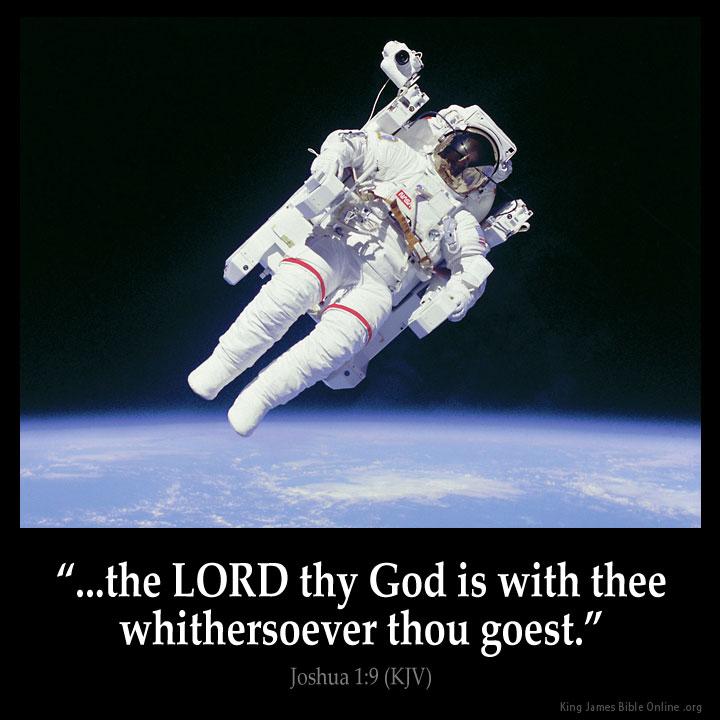 Joshua 1:9 Inspirational Image