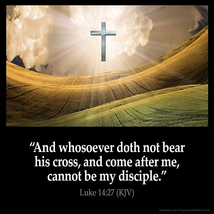 Luke 14:27