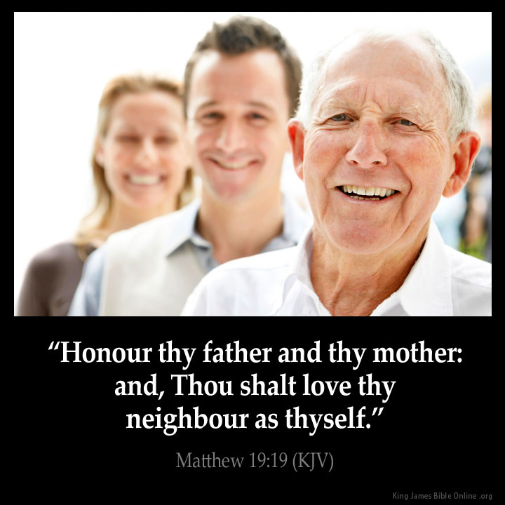 Matthew 19:19 Inspirational Image