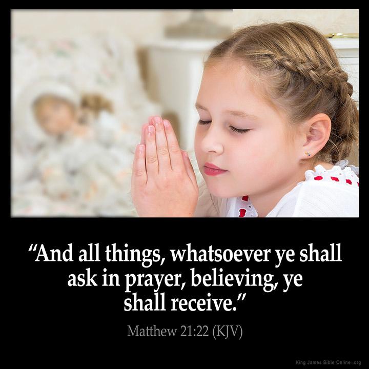 Matthew 21:22 Inspirational Image