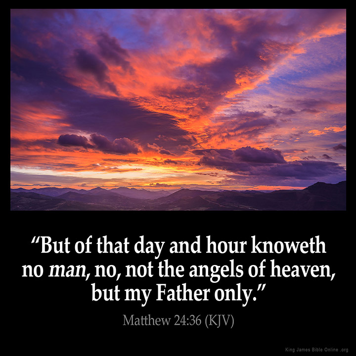 Image result for scripture matthew 24 kjv