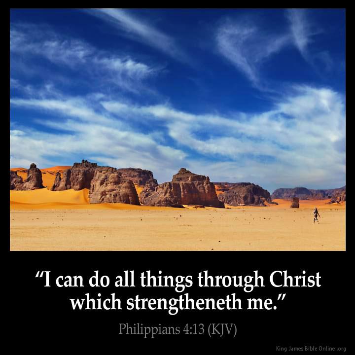 Philippians 4 13 Inspirational Image