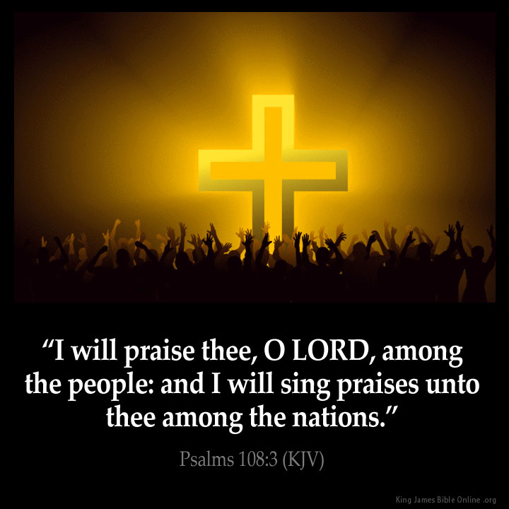 Psalms 108:3 Inspirational Image
