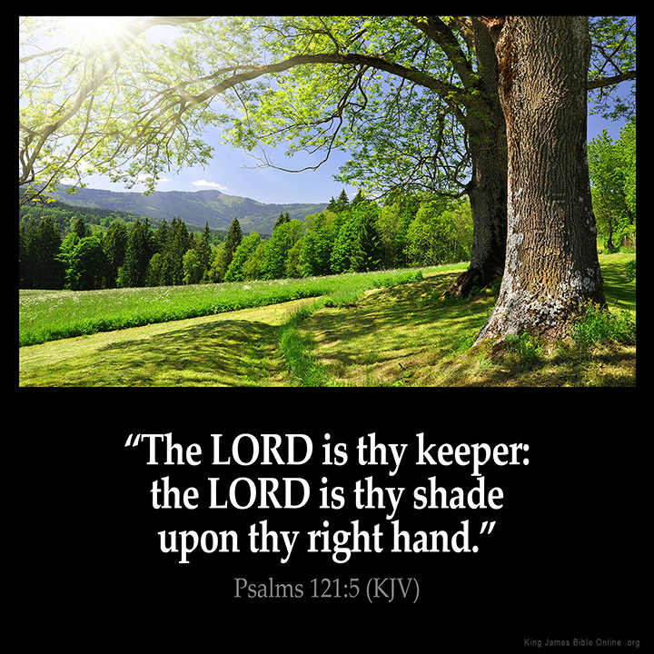 Psalms 121:5 Inspirational Image