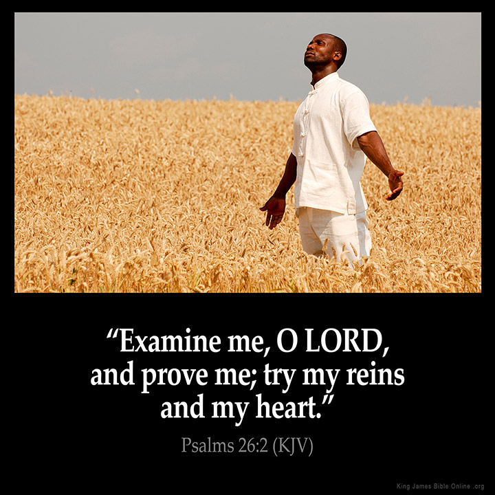 Psalms 26:2 Inspirational Image