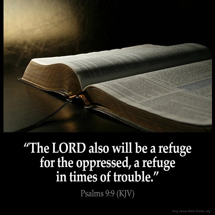 Psalms 9:9