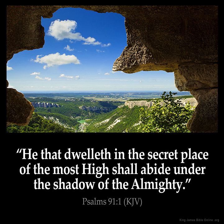 Psalms 91:1 Inspirational Image