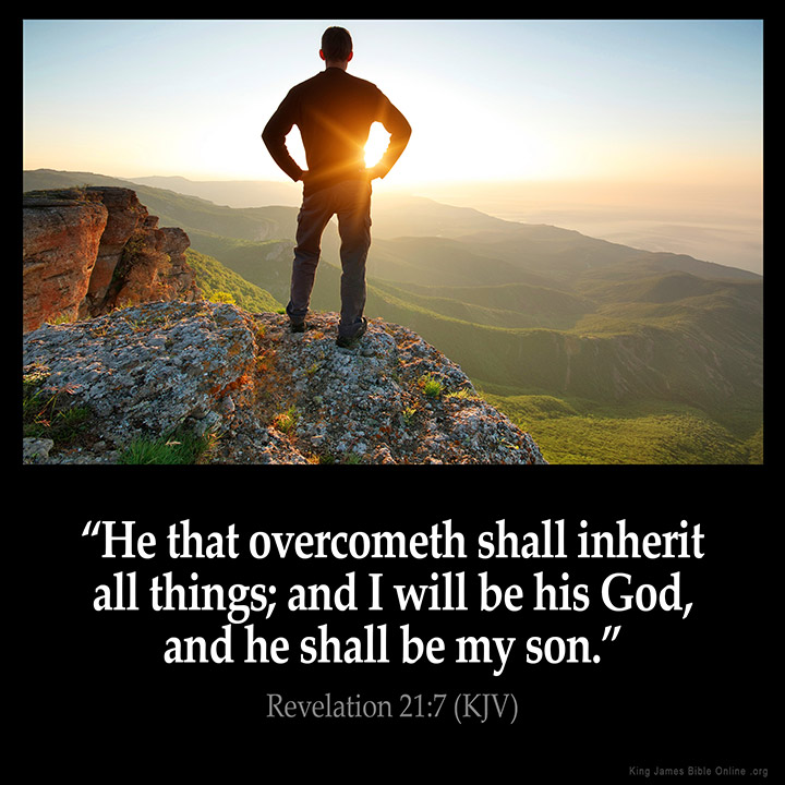 Revelation 21:7 Inspirational Image