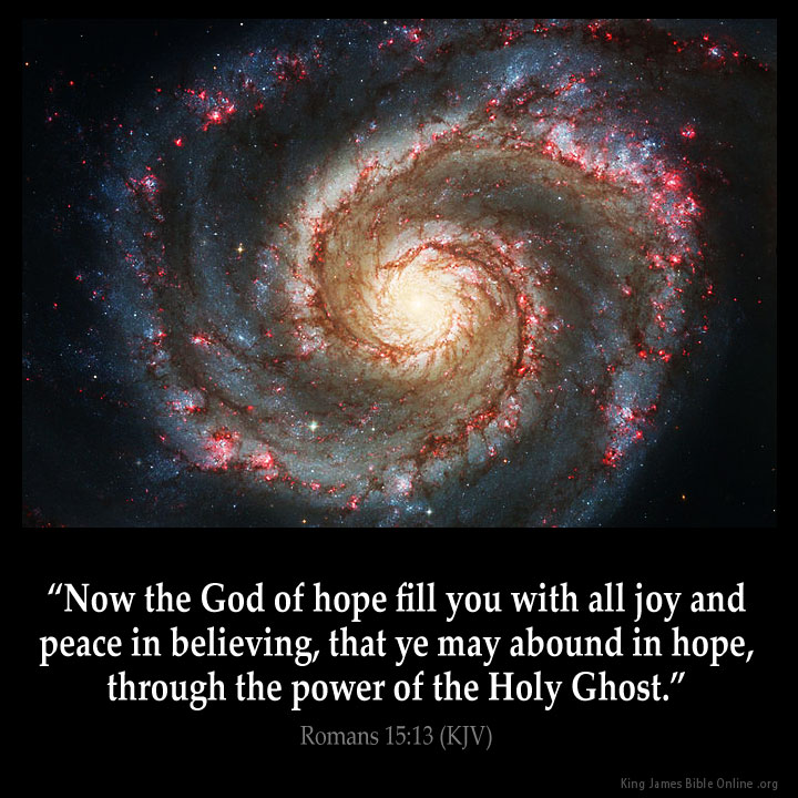 Image result for Romans 15:13 kjv